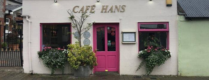 Cafe Hans is one of Michelin in Ireland.