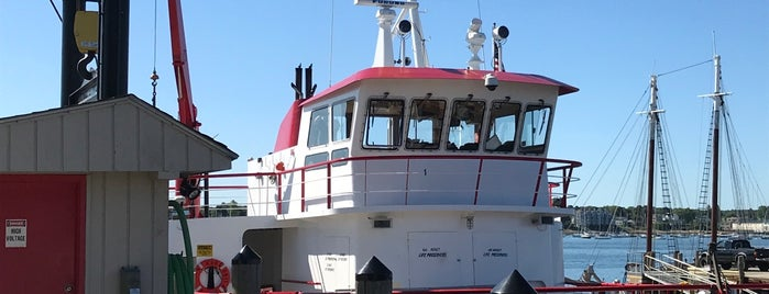 Casco Bay Ferry Mailboat Run is one of Portland, Maine.