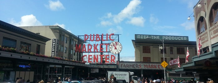 Pike Place Market is one of Seattle favs.