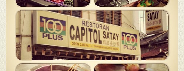 Restoran Capitol Satay Celup is one of Malaysia, Sg & Thailand.