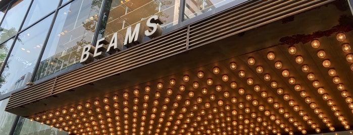 BEAMS is one of TOKYO 2018.