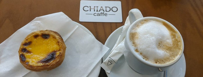 CHIADO caffe is one of Lisbon.