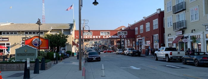 Cannery Row is one of California.