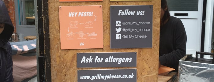 Grill My Cheese is one of London's Best Street Food.