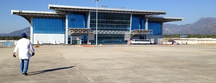 Jolly Grant Airport Dehradun is one of Sri's Saved Places.
