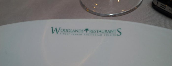 Woodlands Restaurant is one of TEN BEST: Vegetarian restaurants in London.