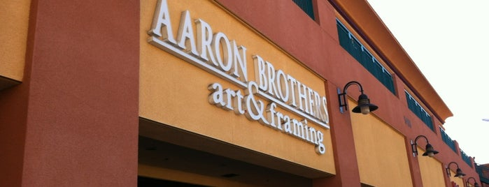 Aaron Brothers Art and Framing is one of Orte, die Karl gefallen.