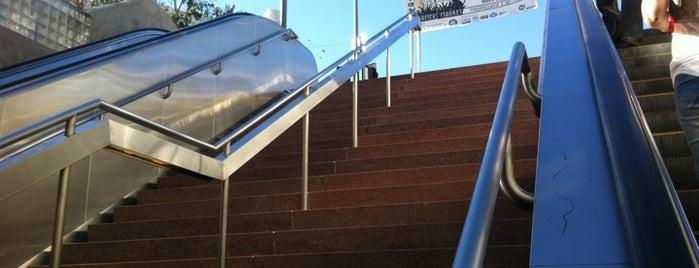 Metro Rail - Hollywood/Western Station (Red) is one of สถานที่ที่บันทึกไว้ของ Cricket.