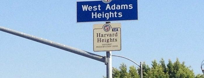 West Adams Heights is one of Neighborhood Americas.