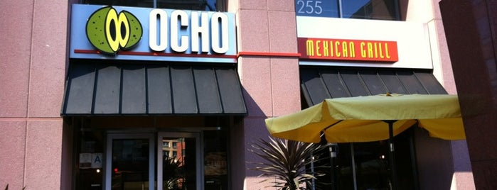 Ocho Mexican Grill is one of Locais salvos de Paresh.