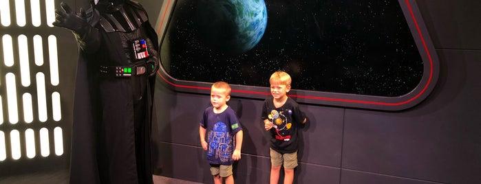 Darth Vader Meet & Greet is one of Star Wars Weekend.