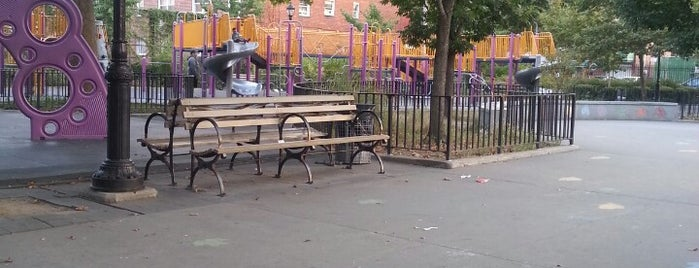 Curtis Playground is one of Where to play ball — Public Courts.