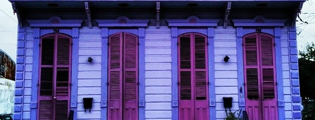 Faubourg Marigny is one of City of New Orleans.
