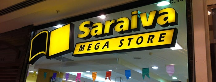 Saraiva MegaStore is one of Livrarias.