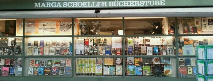 Marga Schöller Bücherstube is one of Bookstores & Libraries.