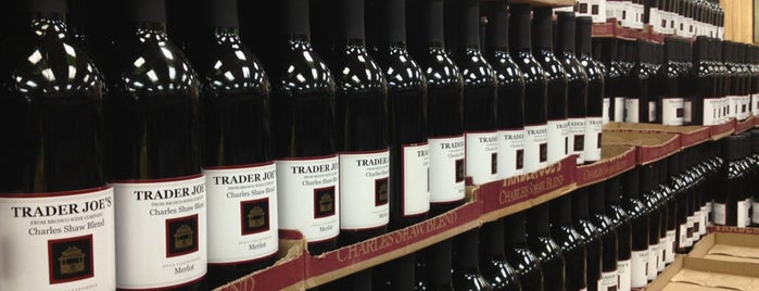 Trader Joe's Wine Shop is one of NYC.