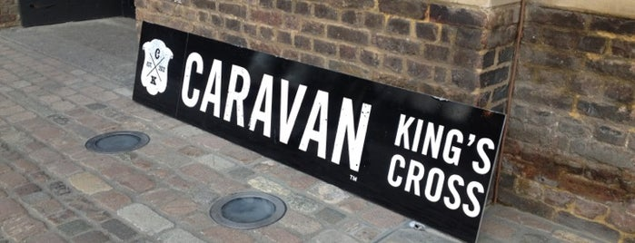 Caravan King's Cross is one of Great Independent Coffee Shops in London.