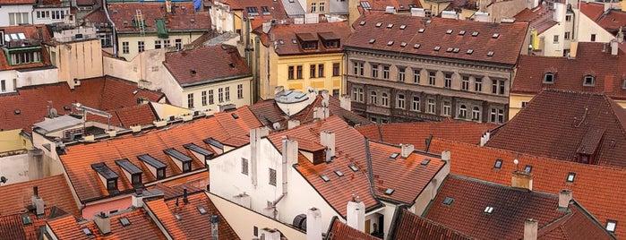 Věž Staroměstské radnice is one of My Prague.