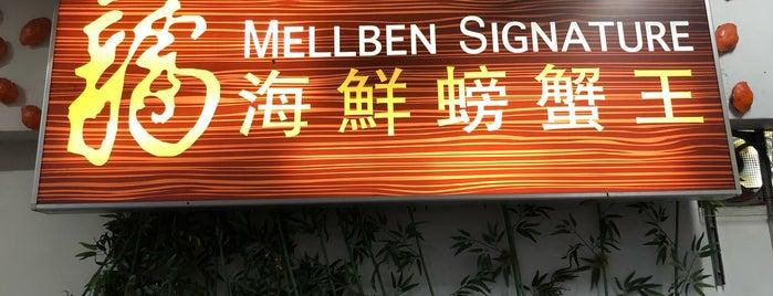 Mellben Signature is one of Orte, die Yinan gefallen.