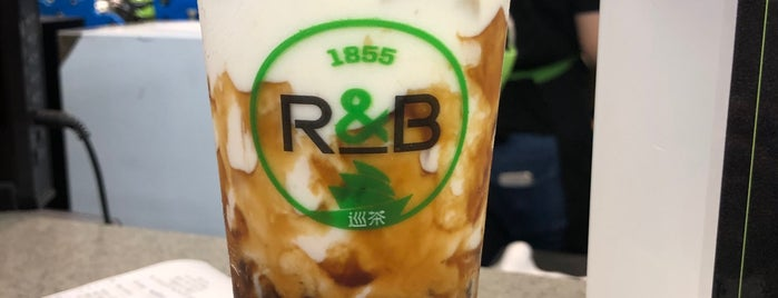 r&b巡茶 is one of Micheenli Guide: Popular/New bubble tea, Singapore.