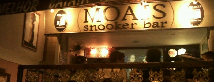 Moais Snooker Bar is one of Claudieny : понравившиеся места.