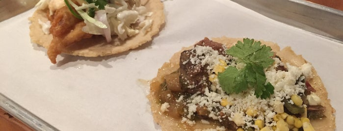 Fork + Taco is one of Austin Restaurants to Visit.