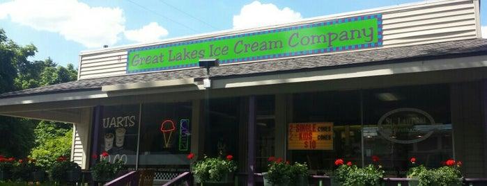Great Lakes Ice Cream Co. is one of Kelly : понравившиеся места.