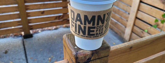 Damn Fine Coffee Bar is one of Chicago.
