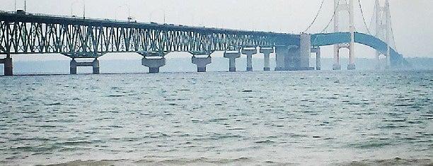 Mackinac Bridge is one of USA.