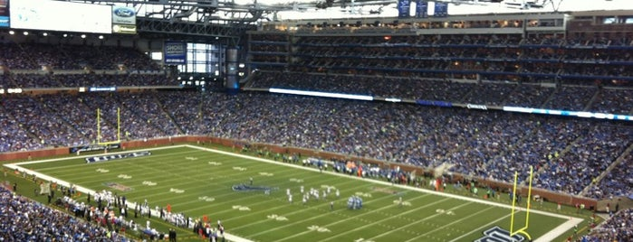 Ford Field is one of Sports.