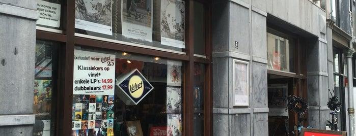 Velvet Music Breda is one of สถานที่ที่ Thomas ถูกใจ.
