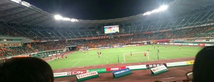 Shizuoka Ecopa Stadium is one of サッカー.