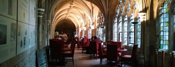 The Cloister Café is one of London.