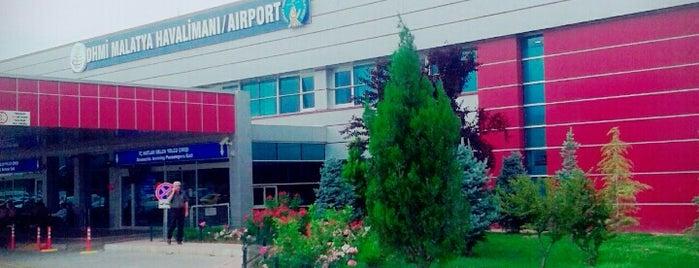 Malatya Erhaç Havalimanı (MLX) is one of Havalimanları.