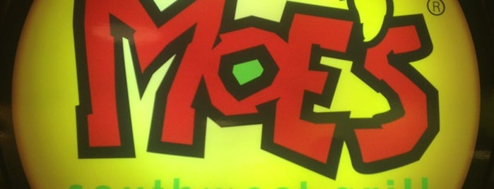 Moe's Southwest Grill is one of Lunch.