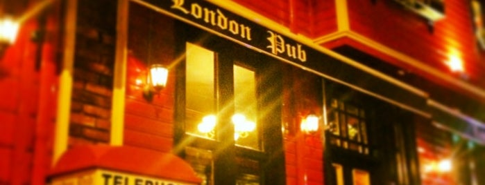 London Pub is one of Lieux sauvegardés par Avsar.