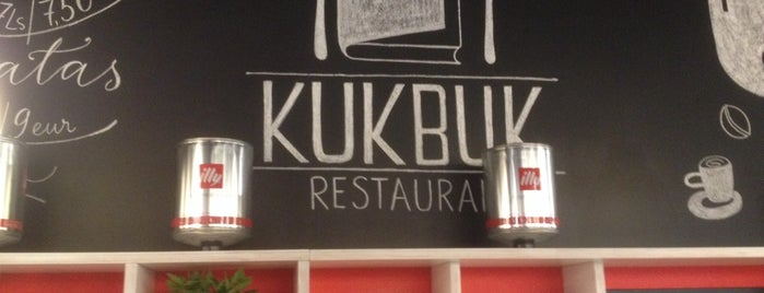 KukBuk is one of Coffee & cake.