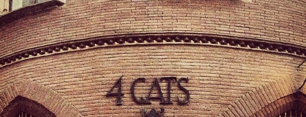4 Gats is one of Barcelona.