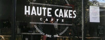 Haute Cakes Caffe is one of Cali.