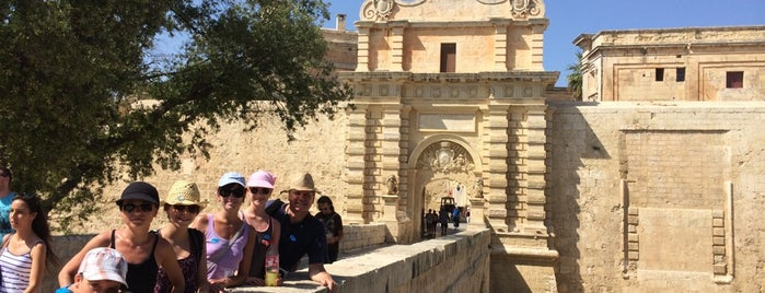 Mdina Gate is one of Orte, die Pelin gefallen.