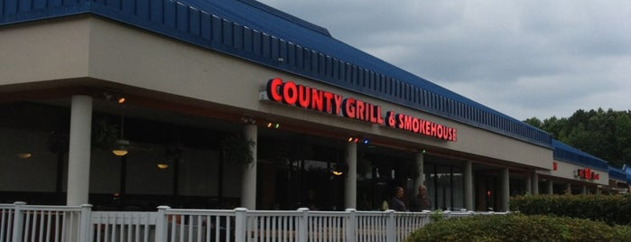 County Grill & Smokehouse is one of Good Chow, Sometimes Weird Places.