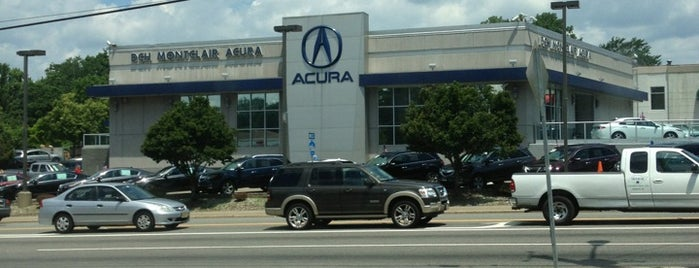 DCH Montclair Acura is one of Posti che sono piaciuti a Stuart.