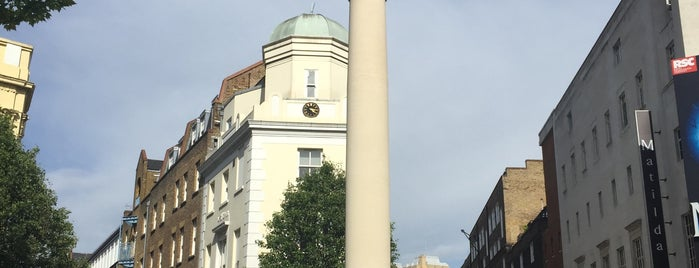 The Seven Dials Sundial Pillar is one of Visiting London.