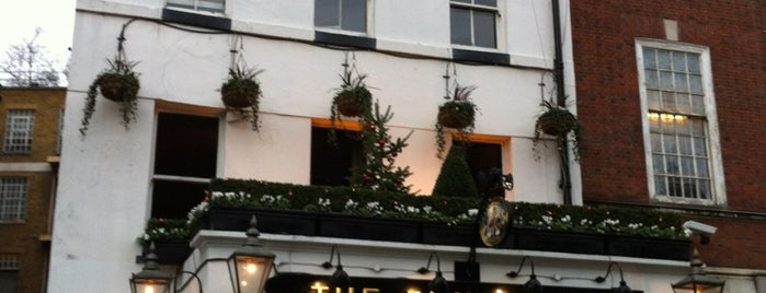 The Punch Bowl is one of London's Best Pubs (voted by Londonist readers).