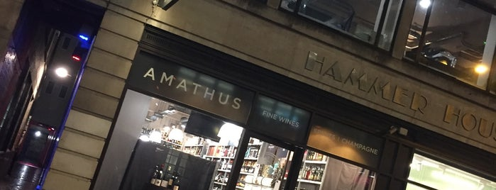 Amathus is one of London's Best for Beer.