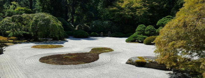 Jardín Japonés de Portland is one of Portlandia.
