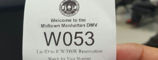 NYS DMV - Midtown Office is one of Lieux sauvegardés par Brandi.