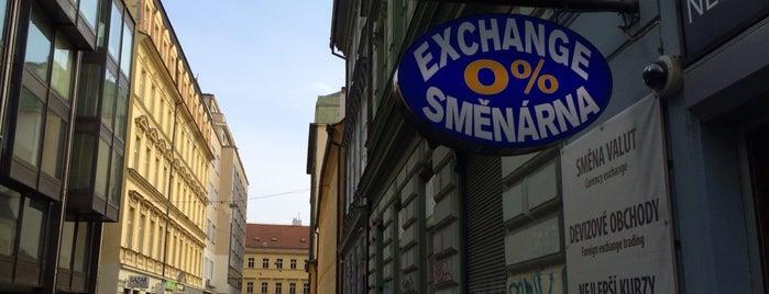 Nekazanka Exchange is one of Прага.