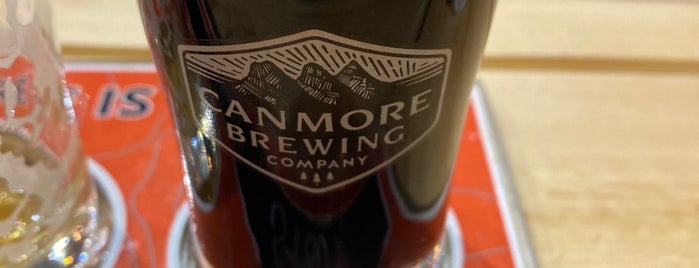 Canmore Brewing Co is one of Banaff.
