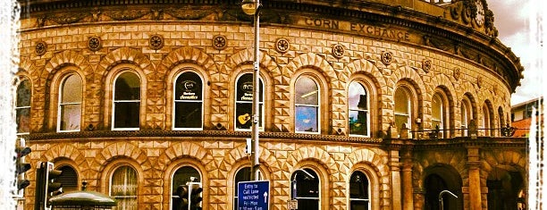 Leeds Corn Exchange is one of Leeds.